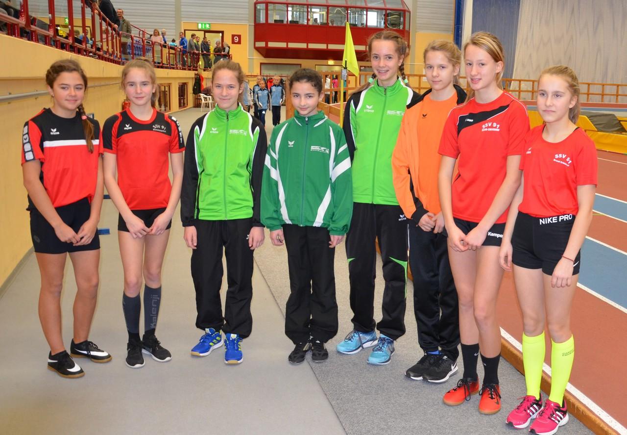 Regionale Hallenmeisterschaften U12 und U14 am 6. Januar 2019 in Chemnitz