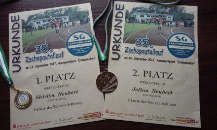 Sehr erfolgreich beim Zschopautallauf in Erdmannsdorf