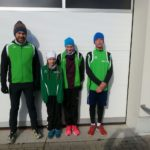 Frostige Kälte beim 28. Radebeuler Wintercross