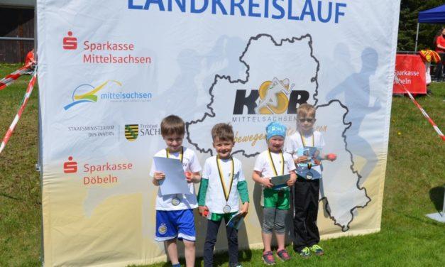 26. Landkreislauf Mittelsachsen am 28. April 2018 in Cämmerswalde