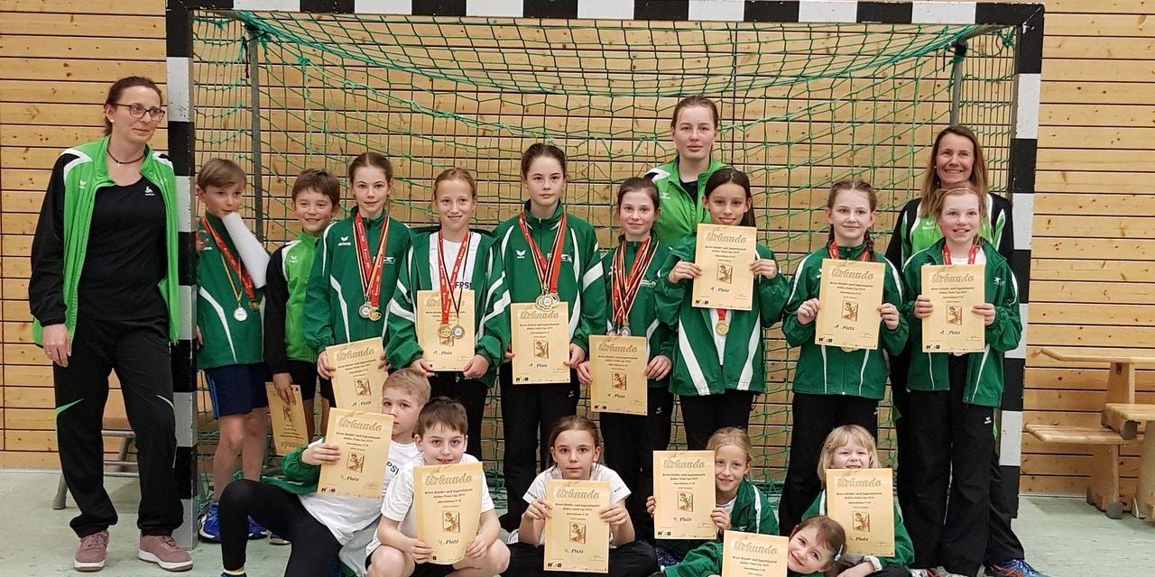 6. TVL Hallensportfest und 4. KKJSp Kinderleichtathletik Team U10 / U12