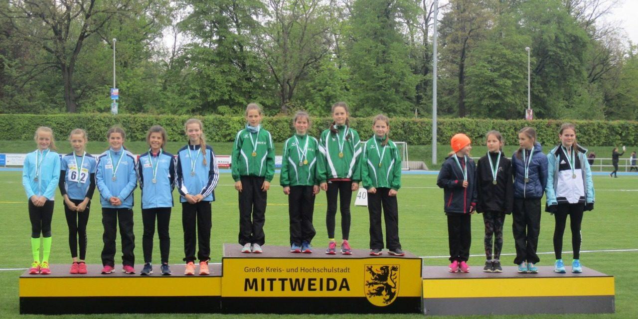Erneut Medaillensegen bei Regionalmeisterschaften in Mittweida